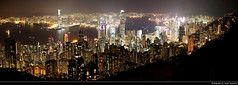 Panoramic view from Lugard Road at Night, Hong Kong, China (JH_1982) Tags: panorama panoramic lugard road 盧吉道 victoria peak 太平山 扯旗山 mountains view aussicht ausblick city urbanity cityscape skyline skyscrapers skyscraper highrises highrise buildings wolkenkratzer architecture lights light leuchten dunkel dark darkness nacht night nuit noche notte 晚上 夜 ночь beleuchtet beleuchtung lumière luz 光 свет evening spectacular island kowloon harbour harbor hafen hong kong hongkong 香港 홍콩 гонконг hk hkg sar peoples republic china prc chine cina 中国 中國 中华人民共和国 중화인민공화국 китайская народная республика mountain austin