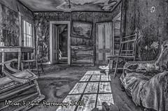 Living Room Decay (monochrome) (Michael F. Nyiri) Tags: bodieghosttown bodie bodiestatehistoricpark california blackandwhite monochrome greatphotographers