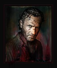 Andrew Lincoln (andrzejslupsk) Tags: thewalkingdead actor movie andrzej słupsk slupsk hollywood face art portrait photo manipulation star