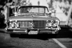 Old Buick (LXG_Photos) Tags: analog efm film illford lensbaby monochrome sfx200 velvet56 ishootfilm seeinanewway shotonfilm blackandwhite 白黒 noiretblanc schwarzundweis biancoenero blancoynegro cruisingrand escondido auto car buick