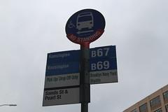 IMG_1809 (GojiMet86) Tags: mta nyc new york city bus buses b67 b69 brooklyn navy yard shuttle stop sands pearl street