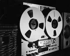 R2R (DzmitryParul) Tags: 105inreel pioneerrt909 reeltoreel analogtaperecorder linhoftechnikaiii music largeformat r2r ilfordhp5plus 150mm 4x5 iso800 kodakhc110dilutionb