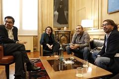 "Reunió Sindicala amb l'Alcaldessa 02 • <a style=""font-size:0.8em;"" href=""http://www.flickr.com/photos/53048790@N08/44043773070/"" target=""_blank"">View on Flickr</a>"