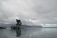 Glacier 84 (Krasivaya Liza) Tags: jokulsarlon glacier lagoon glacial cold arctic iceland icelandic iceberg ice icy floats boat boats