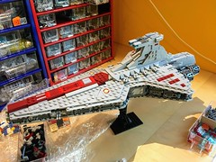 Find the changes! (krisandkris12) Tags: star wars midi scale venator destroyer lego moc instructions