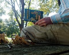IP270: Bench warming with a book (Thiophene_Guy) Tags: thiopheneguy originalworks olympustoughtg4 tg4 olympustg4 olympusstylustg4 tough ironphotographerchallenge utata:project=ip270