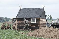 Velké Hoštice 2018 - Russia 1943 (The Adventurous Eye) Tags: velké hoštice 2018 ww2 reenactment military history reenactor reenactors