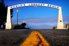 Long Beach Arch (Ian Sane) Tags: ian sane images longbeacharch arch long beach washington northwest 1st street road yellowline bolstadbeachapproach architecture canon eos 5ds r camera ef50mm f14 usm lens