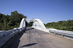 Rainbow Bridge on Route 66 in Kansas IV (eoscatchlight) Tags: rainbowbridge marsharchbridge bridge route66 roadsideamerica themotherroad fadingamerica brushcreek kansas