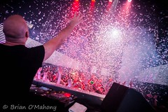 Reach For The Sky (Brian O'Mahony) Tags: international deejay nightclub trancefamily clubbing skygarden brianomahony bali indonesia paper cannon clublife fun thephotographiceye beautiful indonesian alyfila egyptian canon2470mmf28l canon5dmarkii canon trance music dj confetti red lights clubbers reach sky