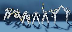 Simplemecha unit (ControlAltBrick) Tags: lego robot mecha blender ldd mecabricks moc