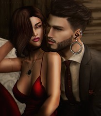 Complicity (MonaSax95 | Queen oF Ink) Tags: photo pic shot picture creative couple love photographer photography photoshop secondlife sl avatar avatars beautiful beauty lovely complicity