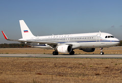VP-BNT Aeroflot A320 (twomphotos) Tags: plane spotting fra2 eddf clear autumn weather blue sky aircraft bestofspotting aeroflot airbus a320 retro livery colorfullspecial speciallivery