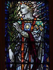 Angel (Aidan McRae Thomson) Tags: leicester church leicestershire stainedglass window artscrafts karlparsons angel