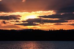 IMG_5076-1 (Andre56154) Tags: schweden sweden sverige landschaft landscape himmel sky wolke cloud wasser water see lake sonne sun sonnenuntergang sunset forest