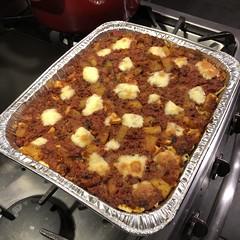 from the #garden #Homegrown #Cucuzza #basil #homemade #Food #CucinaDelloZio - Baked #Pasta! (grapegraphics) Tags: garden homegrown cucuzza basil homemade food cucinadellozio pasta