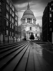 St Paul's (david.travis) Tags: unitedkingdom blackandwhite stpauls england london architecturalphotography urbanphotography bw