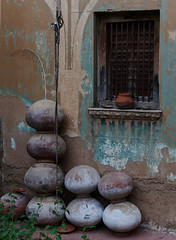 Indian Pottery (seantindale) Tags: india rajasthan pottery olympus omdem5markii travel