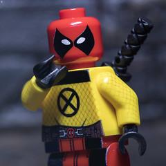 Deadpool: X-Men Trainee (Jezbags) Tags: xmen trainee deadpool marvel marvelstudios canon canon80d 80d 100mm macro macrophotography macrodreams macrolego lego legos toy toys