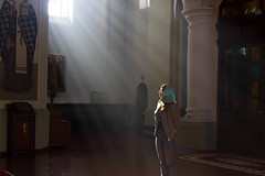 In a Church (El Mariachi Minsk) Tags: church churches orthodox light naturallight canon7d canon canoneos canonllens canonef1735mm28l wideangle indoors europe european