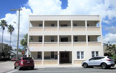 Classic apartment building under refurbishment 9750 (Tangled Bank) Tags: downtown lake worth florida urban city old classic heritage vintage street photography commercial building structure architecture apartment