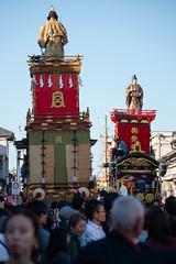 日本武尊命と徳川家康の遭遇 (kasa51) Tags: float car people kawagoe japan 川越まつり 山車 日本武尊命 徳川家康 川越氷川神社 kawagoematsuri festival