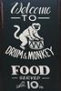 UK Glasgow - chalkboard (and chalkboard-style) pub/cafe signs - Drum & Monkey Pub (David Pirmann) Tags: unitedkingdom scotland glasgow chalkboard blackboard sign pub cafe