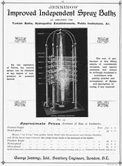 George Jennings' Spray Bath. 1903 (sadiron16) Tags: bath shower jennings tradecatalogue