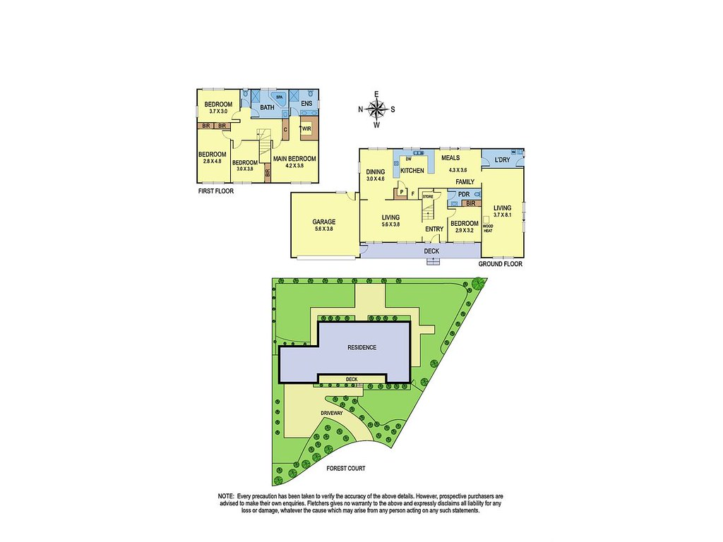 8 Forest Court floorplan