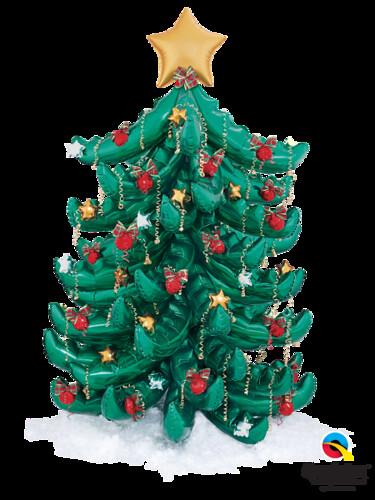 Palm Frond Christmas Tree
