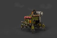 TR-47 Krabbeltier (roΙΙi) Tags: maktober mak moc lego afol maschinenkrieger industriamechanica