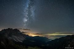Seceda - The Other Side II (Wim Air) Tags: seceda furchetta south tyrol milky way dolomites stars