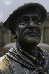 Sculpture of Celedón, Vitoria-Gasteiz, Spain (rickwarner) Tags: país vasco vitoriagasteiz gasteiz spain vitoria