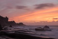 Uttakleiv Beach (Foto_Fix_Automat) Tags: lofoten langzeitbelichtung meer olympus wasser sonne sonnenuntergang omd