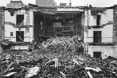 post. (jonathancastellino) Tags: abandoned church toronto demolition destruction cut leica q architecture rubble post reduction