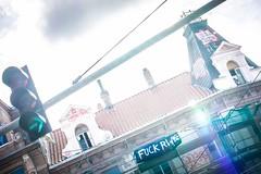 Sonne statt Kohle (blende9komma6) Tags: city urban hannover linden germany nikon d7100 rwe sonne kohle sun coal hambacherforst hambibleibt fuck sunbeam crime grafitti sky energiewende energie