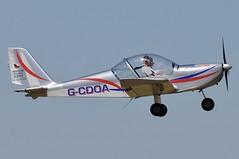 G-CDOA (LIAM J McMANUS - Manchester Airport Photostream) Tags: gcdoa mainairflyingschool mainair cosmikaviation ev97 teameurostar cityairportmanchester barton egcb