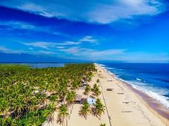 Ilashe Beach, Lagos Nigeria (Devesh Uba) Tags: djimavicair snapitoga beach beachesinwestafrica beachnearlagos beachinnigeria beachlife westafricabeach lagosnigeria