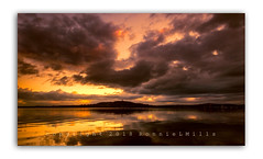 I Am The Calm Amidst The Storm (RonnieLMills 5 Million Views. Thank You All :)) Tags: scrabo tower strangford lough high tide reflections stormy skies clouds portaferry road newtownards calmamidstthestorm ronnielmills