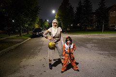 Welcome to the Resistance (cookedphotos) Tags: mississauga ontario canada ca canon 5dmarkiv streetphotography halloween starwars rey pilot xwing poedameron costume dressup trickortreat forceawakens