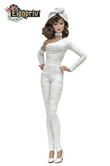Raya Mummy Costume (elenpriv) Tags: raya mummy costume jemandtheholograms halloween handmade clothes dollclothes elenpriv elena peredreeva colorinfusion fashion doll integrity toys jasonwu