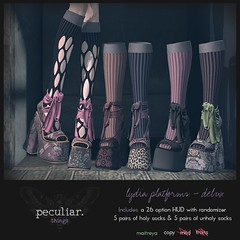 Peculiar Things - Lydia Platforms ECLIPSE (Eclipse Event) Tags: