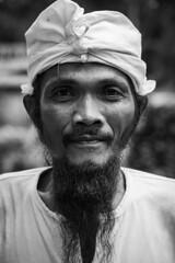 Man in Tanan Festival, Bali (Angelo Daniel Prinz) Tags: bnw bw bali black blackandwhite bnwgreatshots bokeh bwmania bwmaniac bwphotography contrast monochrome portrait porträit sanur schwarzweiss silouette porträt
