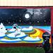 The Gulch, Nashville 9/29/18 #mural #polarbear #raccoon
