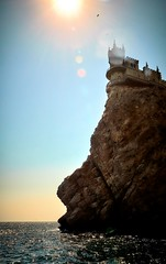 Crimea! The Swallow's Nest (VANO CHAVCHAVADZE) Tags: russia crimea