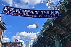 Lansdowne Street / Fenway Park (AntyDiluvian) Tags: boston massachusetts backbay kenmoresquare fenway fenwaypark mlb baseball redsox street lansdownestreet greenmonster monsterseats