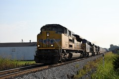 UP 8930 at Bowling Green, KY (dl109) Tags: sd70ah unionpacific bowlinggreen ky