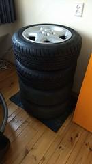 Peugeot 605 wheels (BasFeijen) Tags: peugeot 605 wheels rims tyres felgen wielen