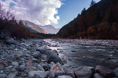 Along the river (Lory63419) Tags: river fiume autumn nature land mountain