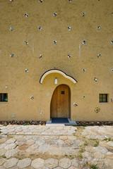 Entrance door of Mosaic Tile Museum, Tajimi (多治見市モザイクタイルミュージアム) (christinayan01 (busy)) Tags: gifu japan architecture building museum perspective fujimori